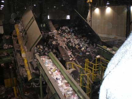 recycling machinery- mechanical sorting