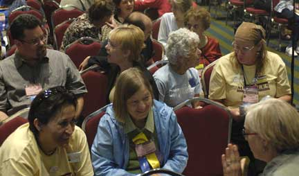 GA attendees engaged at a 2009 workshop.